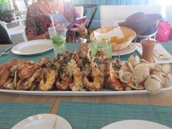 Royalton Punta Cana Resort & Casino: don't miss it at the restaurant during lunch
