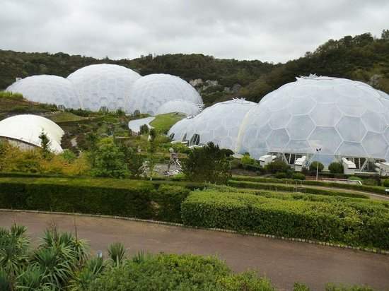 Eden Project : Lots of domes.