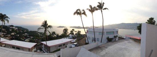 Las Brisas Acapulco: Vista panorámica de la habitación
