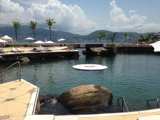Las Brisas Acapulco: Alberca de mar