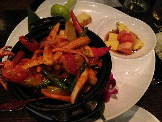 Dinner Bar & Restaurant: Menu Chef