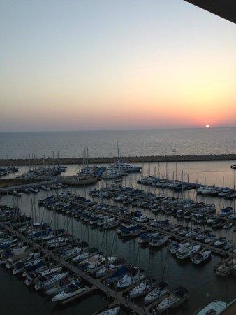 The Ritz-Carlton, Herzliya : Sunset over the Marina