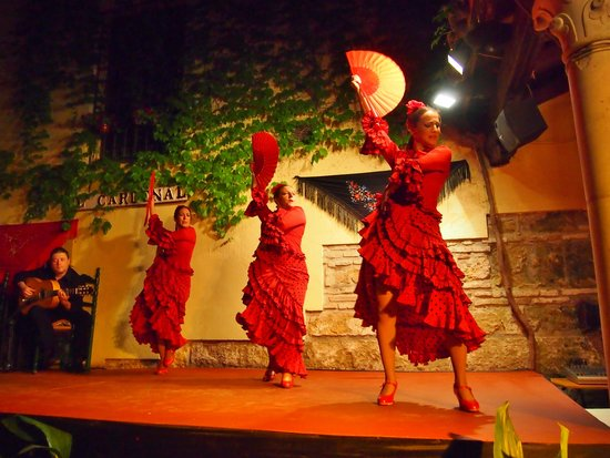 Tablao Flamenco Cardenal: Танец