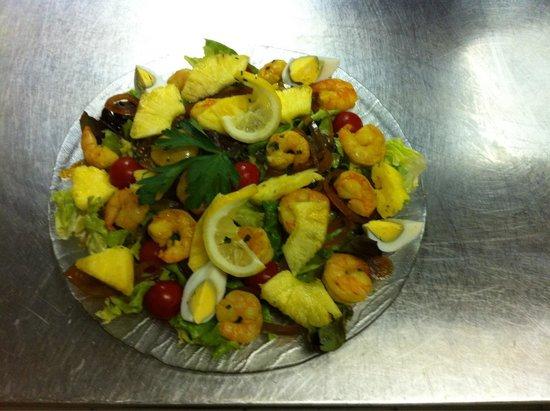 Le Gallion : Salade exotique