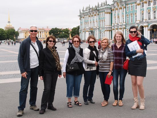 TJ Travel: Alla and our tour group