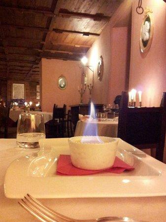 Castello di Petroia: ristorante
