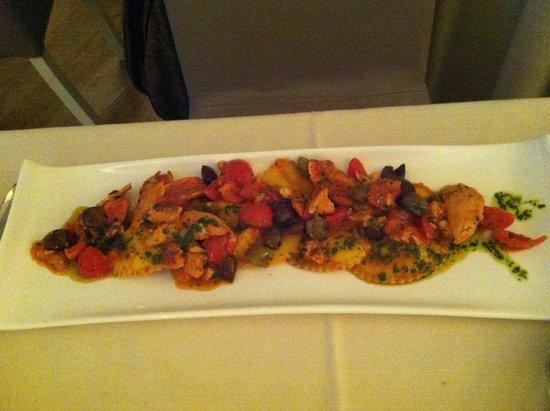 Scalo 34 Restaurant: Primo piatto super ricco