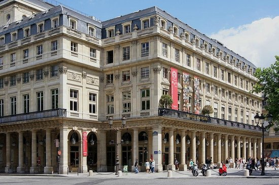 Palais Royal: The Comedie Francaise, rue de Richelieu