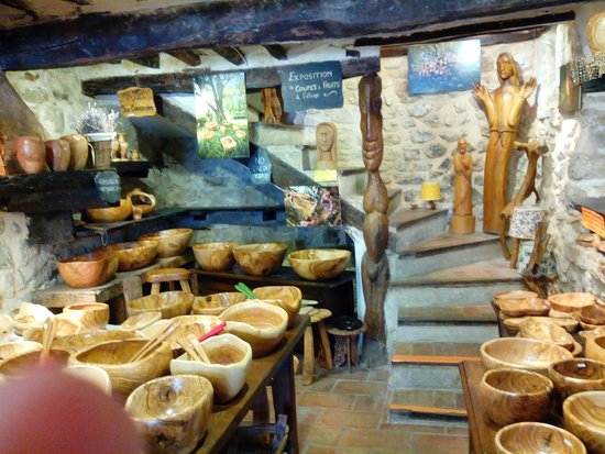Tourrettes-sur-Loup - Village Medieval : Artisan's Shop