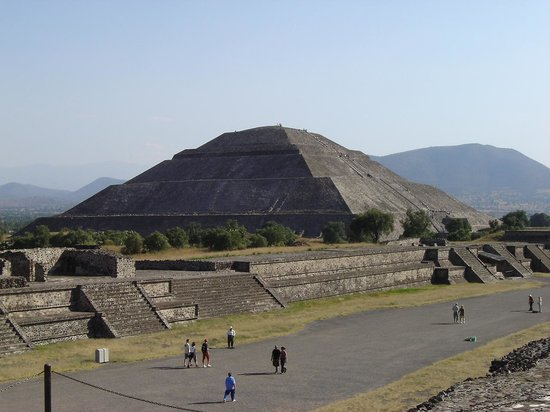 Teotihuacan : vista