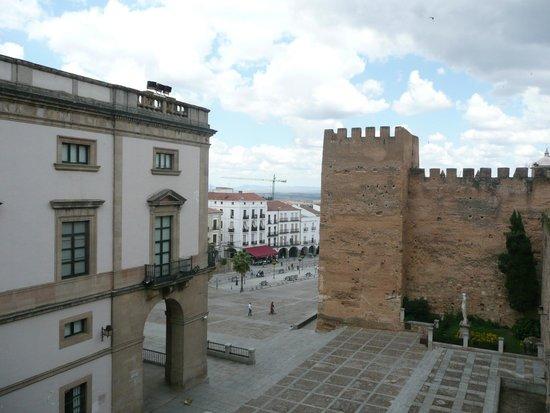 Concatedral de Santa María de Cáceres: plaza mayor