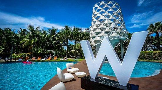 W Singapore Sentosa Cove : Pool Bar