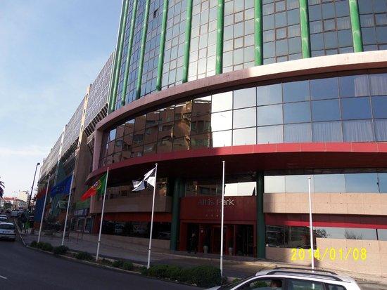 Olaias Park Hotel: Fachada