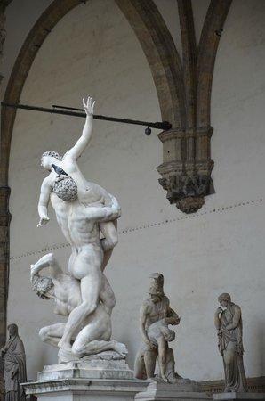 Galerie des Offices : Скульптуры
