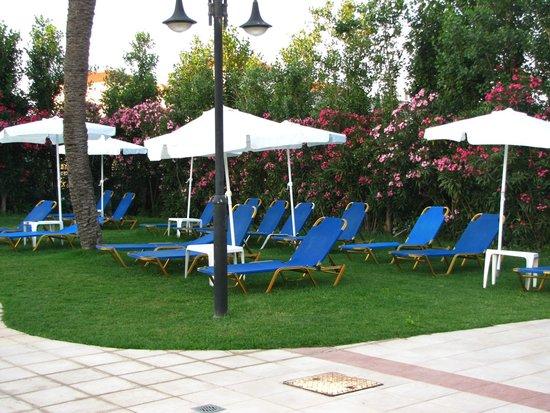 Hotel Adelais: prato delle piscine