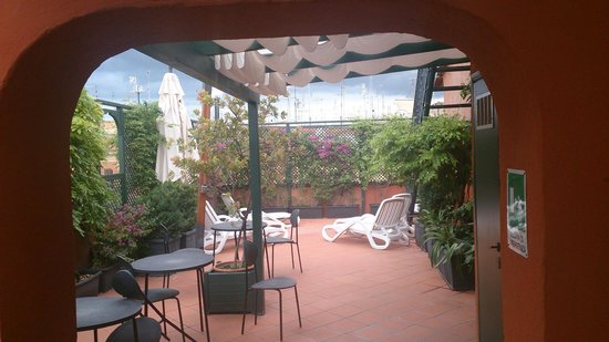 Fiume Hotel: Terrazza al 5° piano