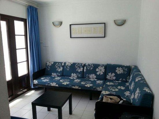 Plaza Azul: salon