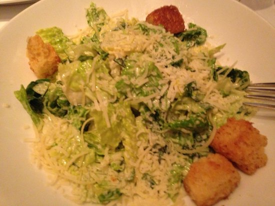 Elway's: Cesar salad with WaY too much dressing