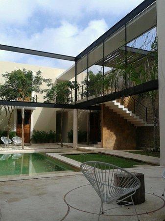 Koox Casa de las Palomas Boutique Hotel : Open spaces