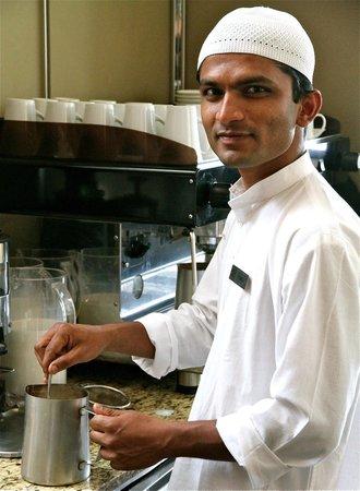 Courtyard by Marriott Pune Chakan: Pradip the best waiter in town!!!!!