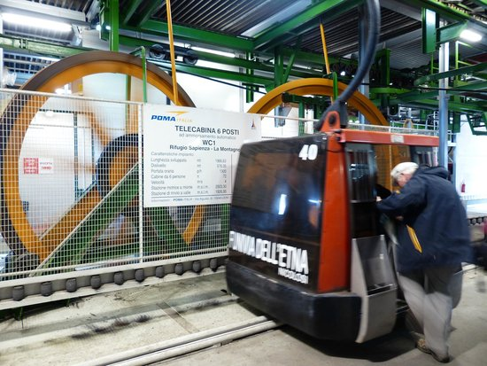 Monte Etna: The Cable car
