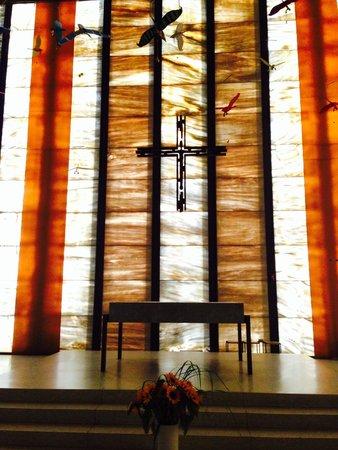 Meggen, İsviçre: Der Altar.