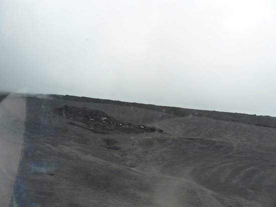 Mount Etna: Almost on the top
