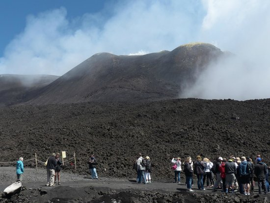 Monte Etna: On the top