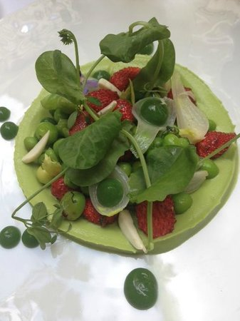 Le Restaurant : Guacamole Fraise des Bois