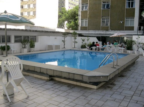 Hotel Vila Velha : The pool