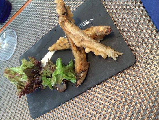 Crazy Chef: Anchovies tempura
