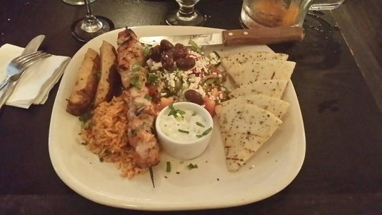 Balkan Restaurant: Grilled Hercules Swords