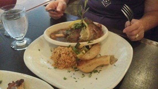 Balkan Restaurant: Arni Psito (braised lamb shank)