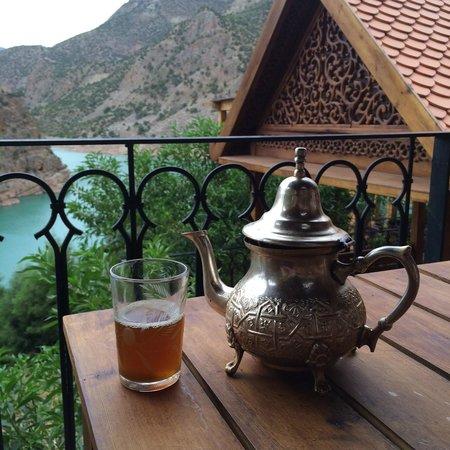 Widiane Suites & Spa: Tea at Canyon Thai