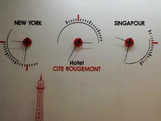 Hotel de la cite Rougemont: Vivez à l'heure de l'Hôtel de la CIté Rougemont