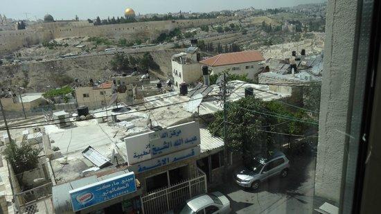 Jerusalem Panorama Hotel: Вид из окна на Старый город