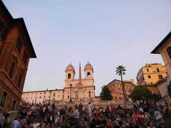 Spanische Treppe (Piazza di Spagna): Plaza España