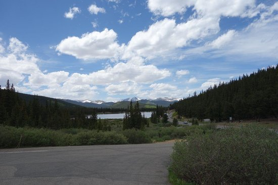 Mount Evans scenic byway - view from the lodge
