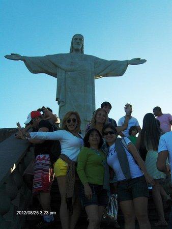 Statue du Christ Rédempteur : El Corcovado!