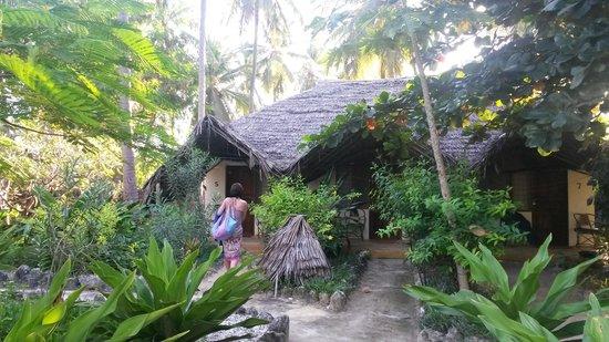 Ndame Beach Lodge Zanzibar: Südlich gelegenes Zimmer