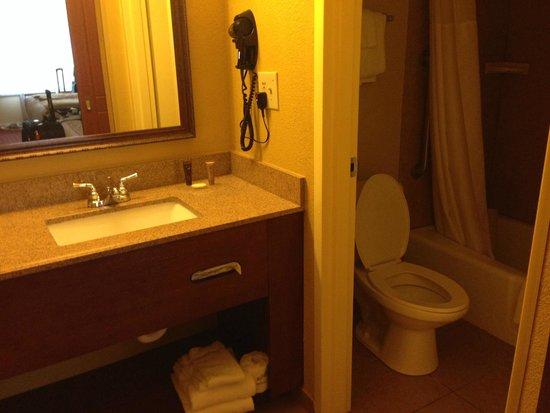 Rosen Inn International: bathroom