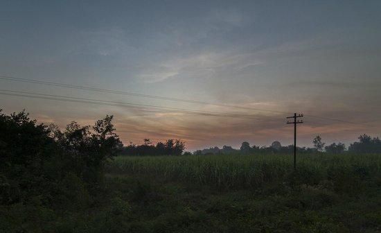Thai-Burma Railway (Death Railway): lever du soleil