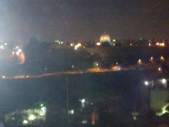Jerusalem Panorama Hotel : Вид на Старый город. Ночь