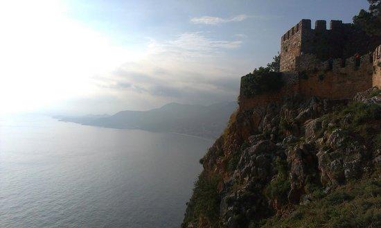 Alanya Kalesi (Castle): Вид на побережье