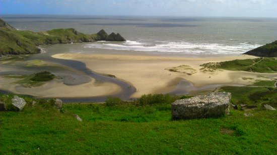 Gower Peninsula: Pobles bay Gower