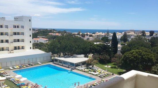 Albufeira Sol Suite Hotel & Spa: La vue de notre chambre standard