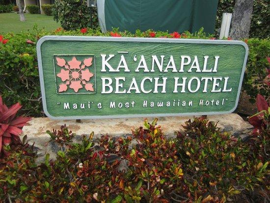 Kaanapali Beach Hotel: Ka'anapali Beach Hotel