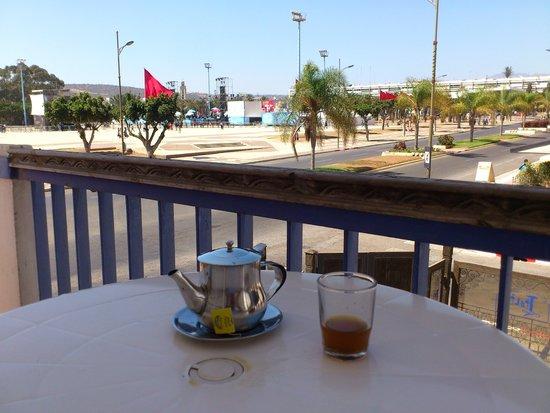 Residence Tislit : vue balcon