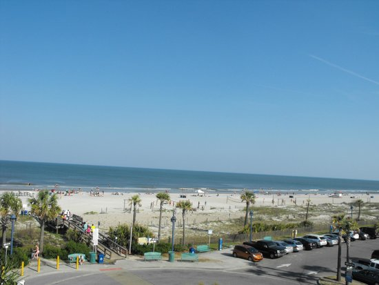 Tybrisa at the Beach: View from Room 316