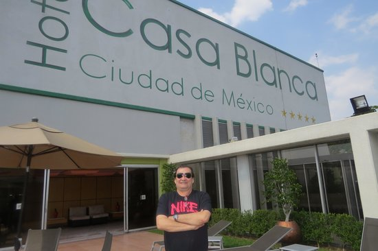 Hotel Casa Blanca Mexico City: Piscina en la terraza